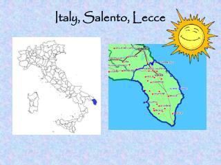 Italy, Salento, Lecce