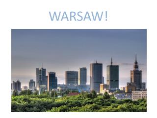WARSAW!