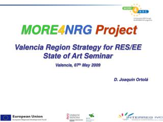 MORE 4 NRG Project