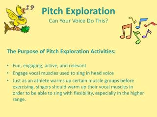 Pitch Exploration Can Your Voice Do This?