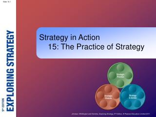 Strategy in Action     15: The Practice of Strategy
