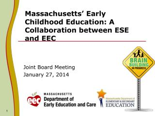 Massachusetts' Early Childhood Education: A Collaboration between ESE and EEC