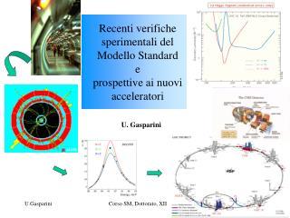 Recenti verifiche sperimentali del Modello Standard e prospettive ai nuovi acceleratori