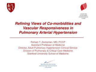 Refining Views of Co-morbidities and  Vascular Responsiveness in  Pulmonary Arterial Hypertension
