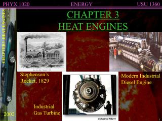 CHAPTER 3 HEAT ENGINES