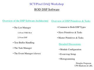 ROD DSP Software