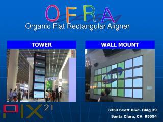 Organic Flat Rectangular Aligner