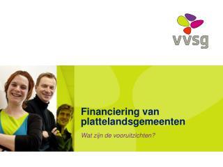Financiering van plattelandsgemeenten