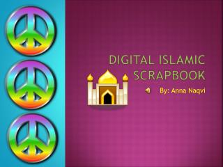 Digital Islamic  Scrapbook