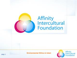 Environmental Ethics  in  Islam