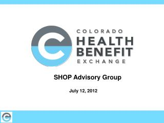 SHOP Advisory Group