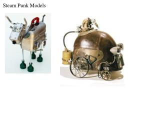 Steam Punk Models