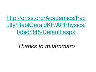AP B Physics review