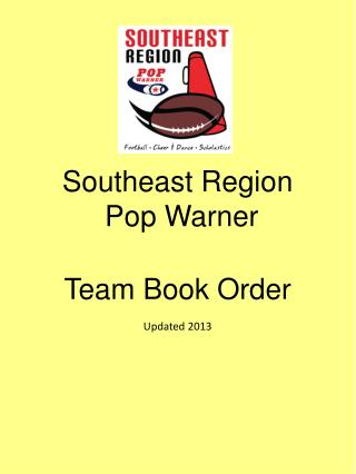 Southeast Region  Pop Warner