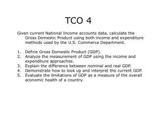 TCO 4