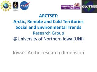 Iowa's Arctic research dimension