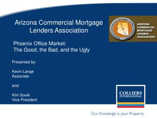 Arizona Commercial Mortgage Lenders Association