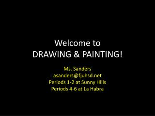 Welcome to  DRAWING & PAINTING!
