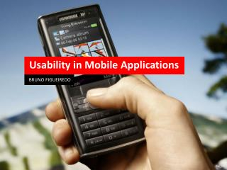 Usability in Mobile Applications