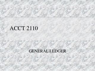 ACCT 2110