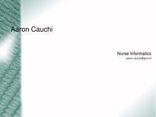 Aaron Cauchi
