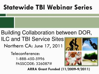 Statewide TBI Webinar Series