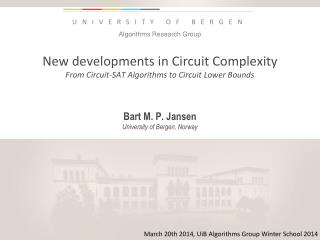 New developments  in  Circuit  Complexity From Circuit-SAT Algorithms to Circuit Lower Bounds