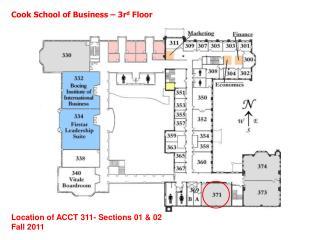 Cook School of Business – 3r d  Floor