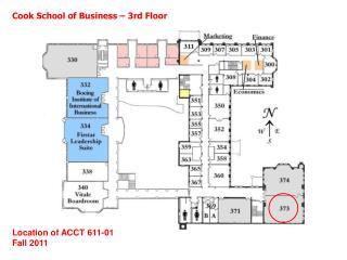 Cook School of Business – 3rd Floor