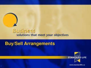 Buy/Sell Arrangements