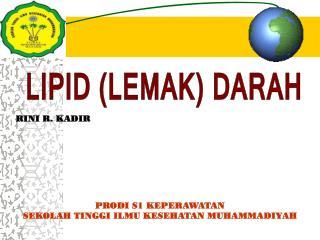 LIPID (LEMAK) DARAH