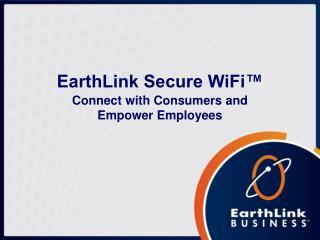 EarthLink Secure WiFi™
