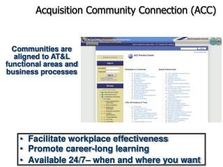 Acquisition Community Connection (ACC)