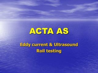 ACTA AS