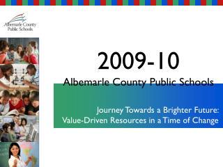 2009-10 Albemarle County Public Schools