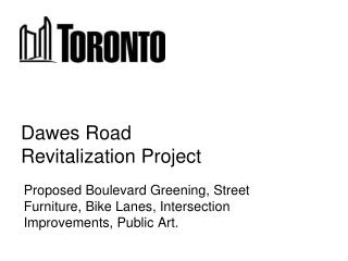 Dawes Road  Revitalization Project