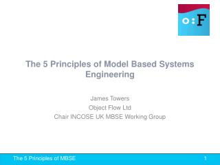 The 5 Principles of Model Based Systems Engineering