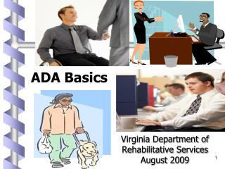 Virginia Department of Rehabilitative Services  August 2009