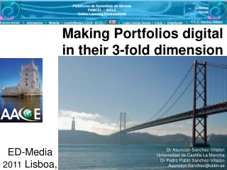 Making Portfolios digital in their 3-fold dimension