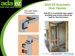 ADA EZ Automatic  Door Opener