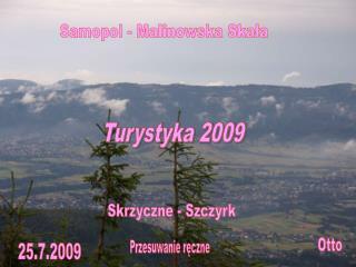 Turystyka 2009