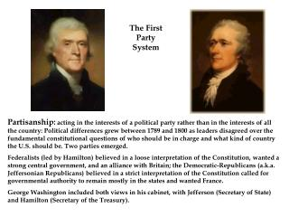 The First Party System