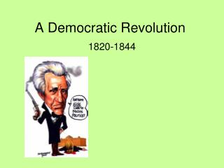 A Democratic Revolution