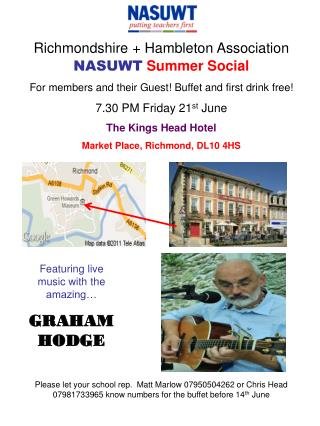 Richmondshire + Hambleton Association NASUWT Summer Social