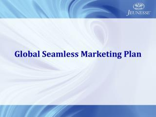 Global Seamless Marketing Plan