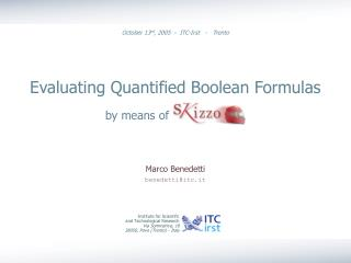 Evaluating Quantified Boolean Formulas