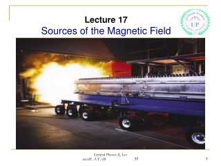 Lecture 17 Sources of the Magnetic Field