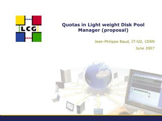 Quotas in Light weight Disk Pool Manager (proposal)