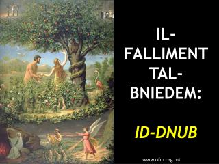 IL-FALLIMENT TAL-BNIEDEM: ID-DNUB
