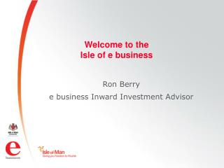 Welcome to the  Isle of e business